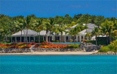7 Bedroom Beach Vacation Home in Antigua, Caribbean