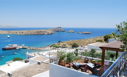 1 & 2 Bedroom Holiday Apartments to Rent in Lindos, Greece