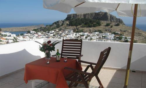 Lindos Beach Studios Apartments For Holiday Rental, Greece